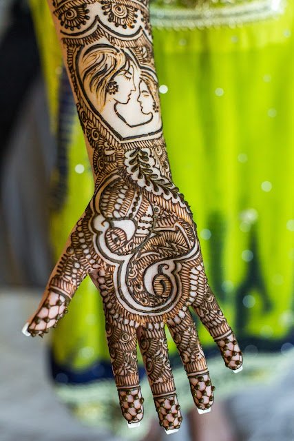 Latest mehndi ke design
