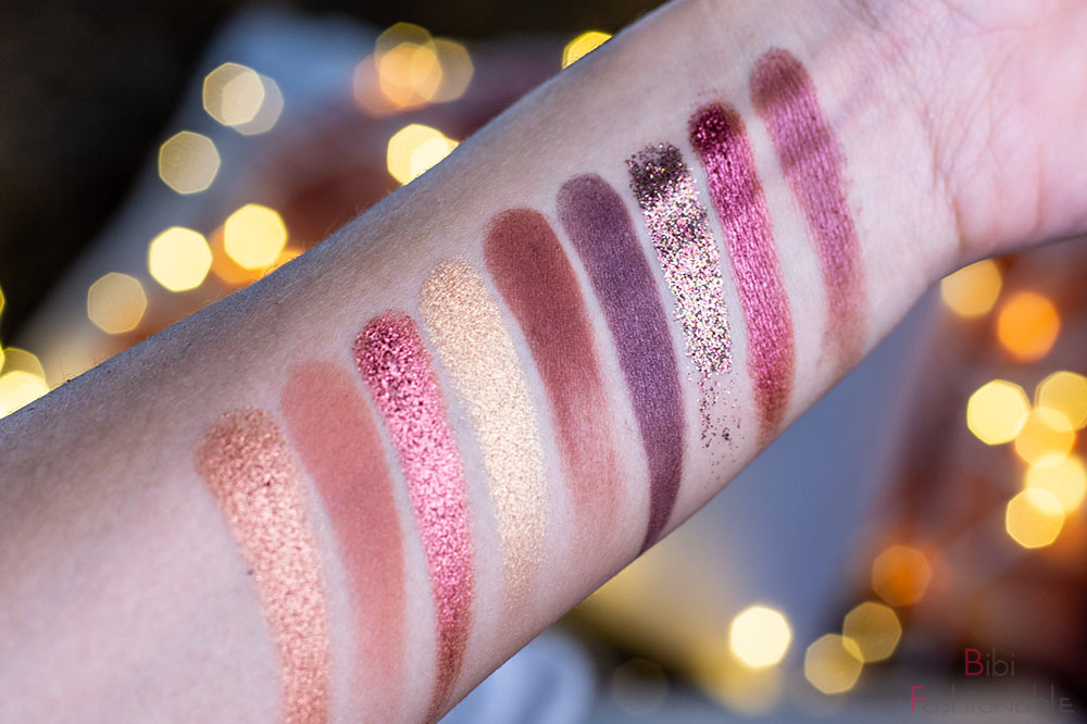 essence hohoho trend edition jingle all the way eyeshadow palette Swatches
