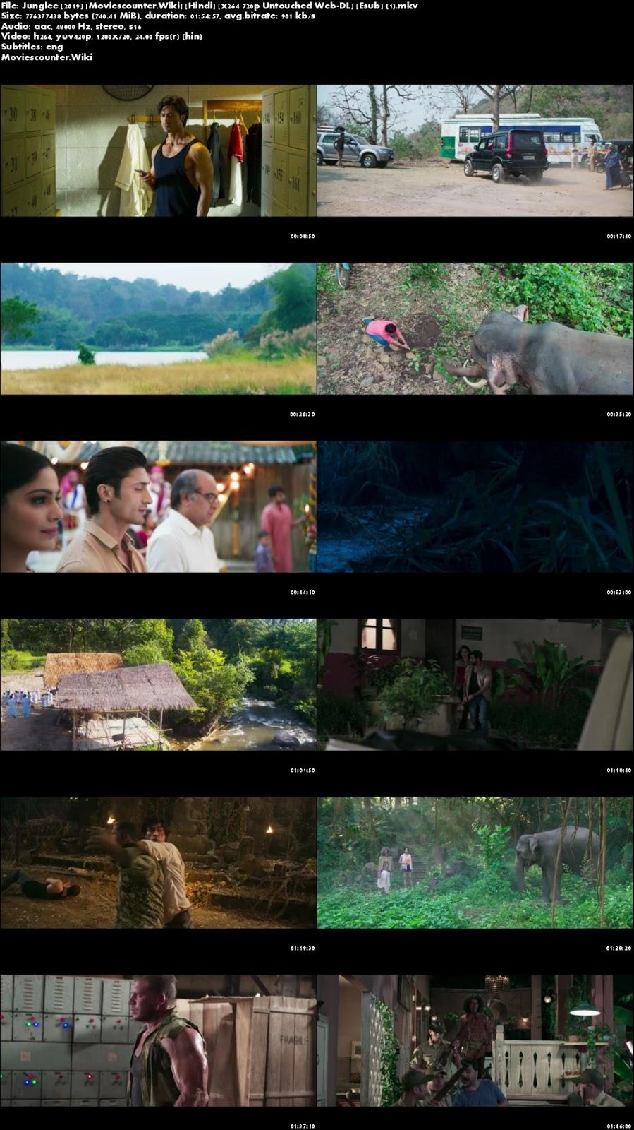Screen Shots Junglee 2019 Hindi HD 720p