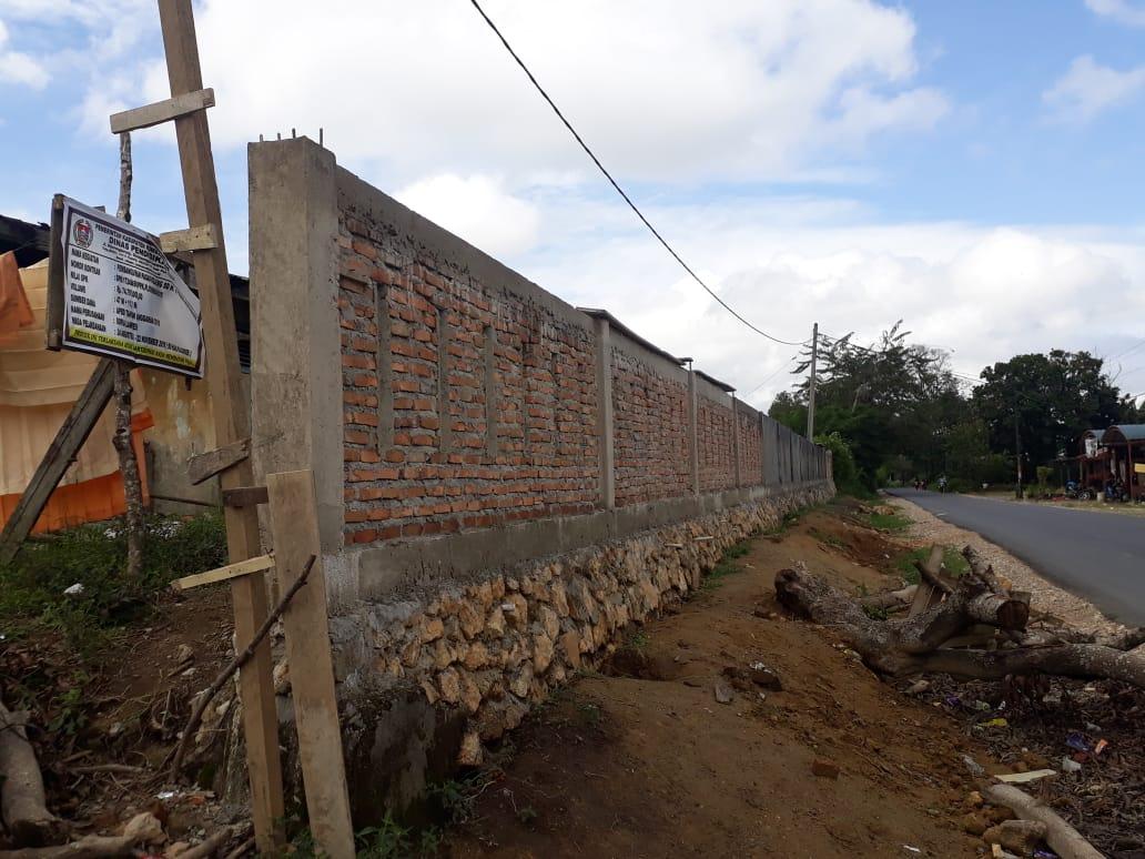 Pembangunan Pagar Keliling Di Sd Negeri 177060 Huta Baris Diduga