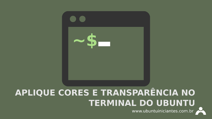 aplique cores no terminal do ubuntu linux