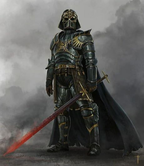 Medieval Vader Guerreiro
