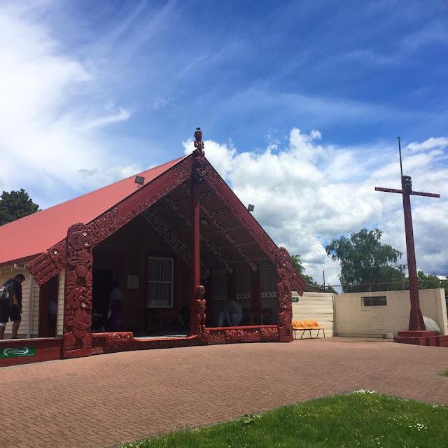 Körhelgen i Rotorua