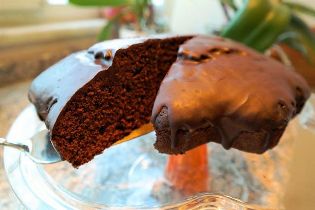 Şekersiz Çikolatalı Kek