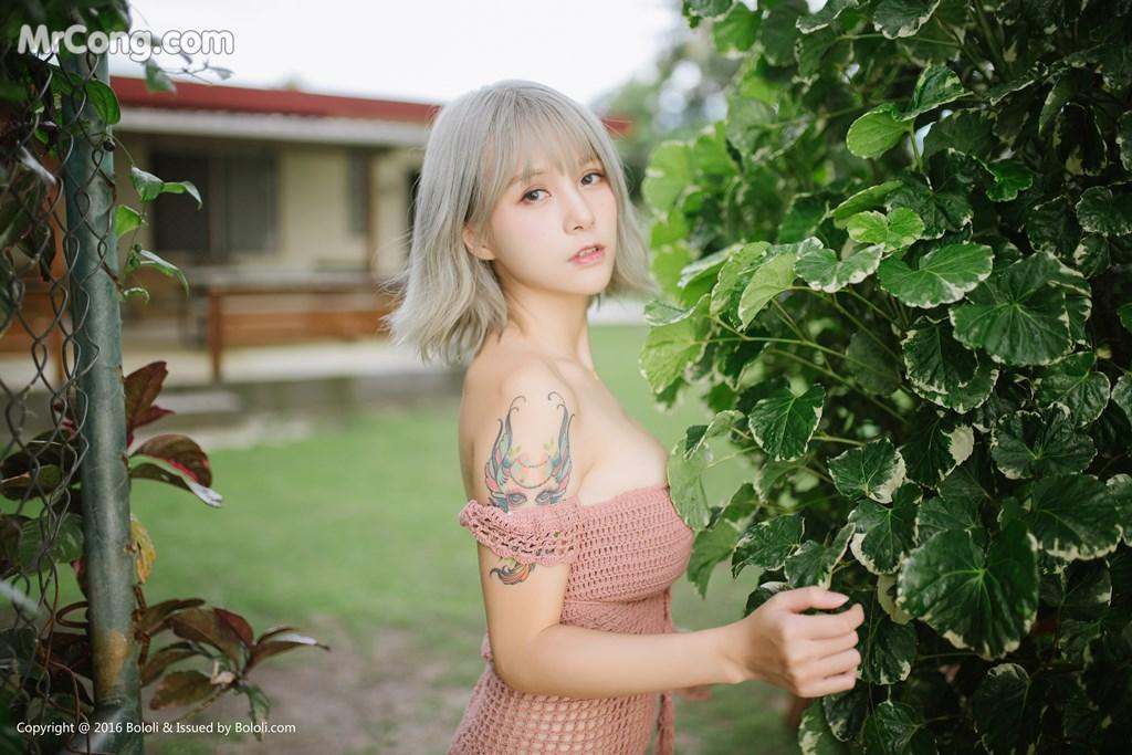 Image Bololi-2017-10-30-Vol.127-Xia-Mei-Jiang-MrCong.com-002 in post Bololi 2017-10-30 Vol.127: Người mẫu Xia Mei Jiang (夏美酱) (62 ảnh)