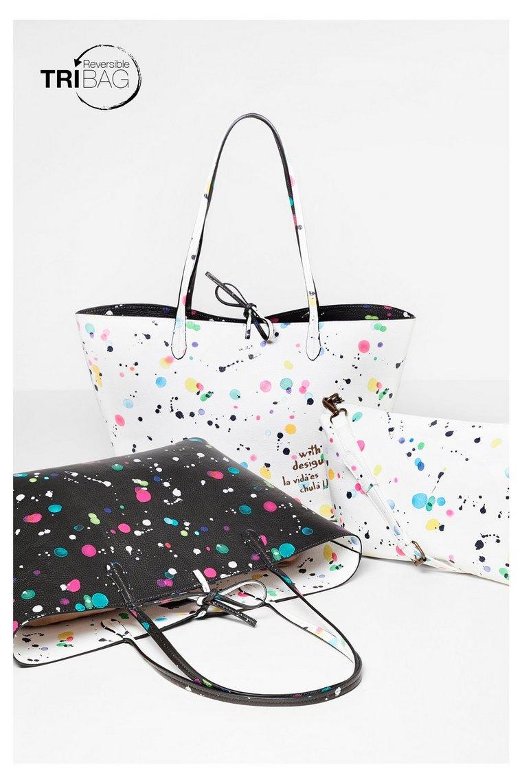 hiszpańska torebka Desigual Capri, hiszpańska marka, moda hiszpańska, blog modowy, netstylistka