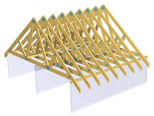 Pitched Roof Frames