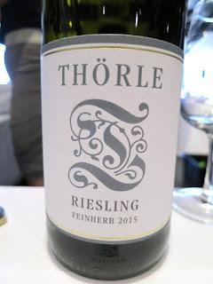 Thörle Feinherb Riesling 2015 - Rheinhessen, Germany (89 Pts)