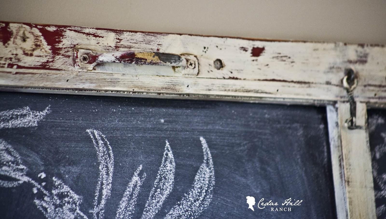 My Screen Door Turned Chalkboard Cedar Hill Farmhouse