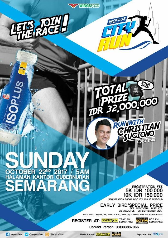 Isoplus City Run - Semarang • 2017