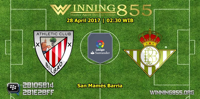 Prediksi Skor Athletic Bilbao vs Real Betis 28 April 2017