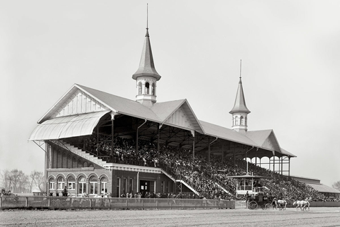 Churchill Downs Louisville Kentucky Derby Vintage Pictures