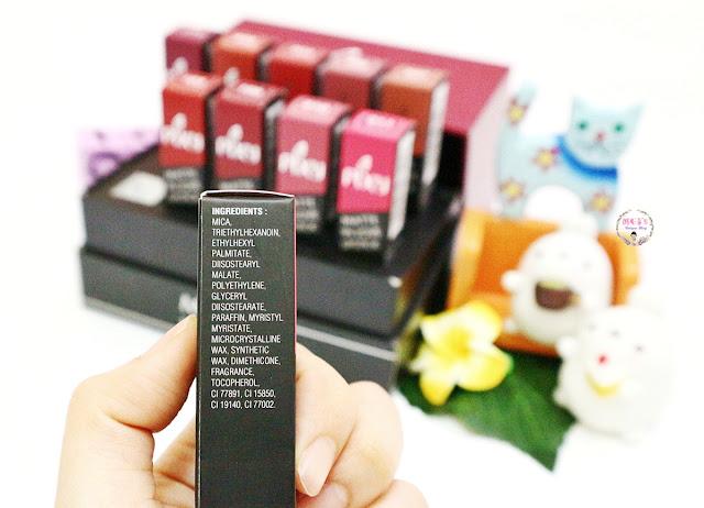 PIXY Matte in Love Lipstick ingredients
