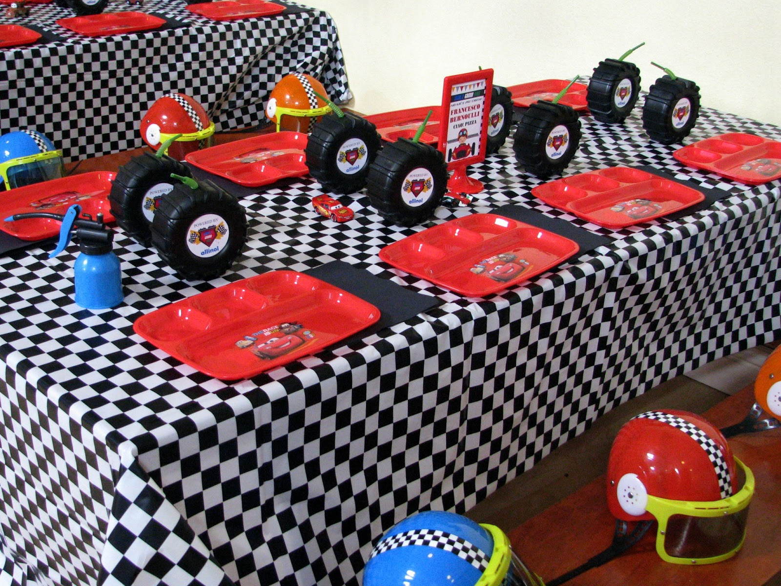 Race Car Birthday Party: Noah's Cars World Grand Prix Party