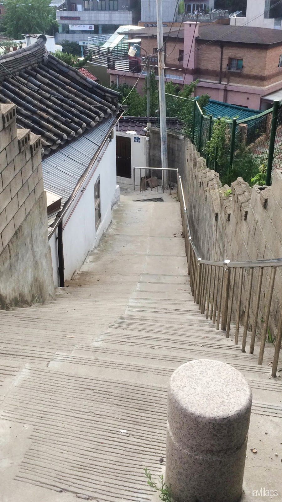 Seoul, Korea - Summer Study Abroad 2014 - Seoul City Touring - Bukchon Hanok Village 북촌한옥마을 北村韓屋마을