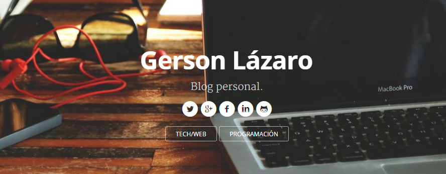 gerson lázaro blog