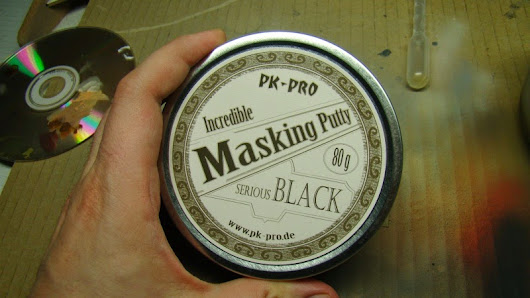 Coloured Dust: Incredible Masking Putty (PK-PRO)          |          Mis Olvidadas Figuras
