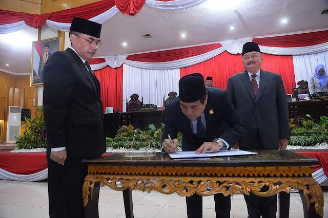 DPRD Sumsel Setujui LKPJ Gubernur Sumsel