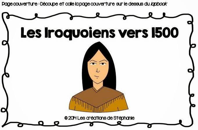 Les cr ations de st phanie lapbook les iroquoiens vers 1500 for Supprimer les vers