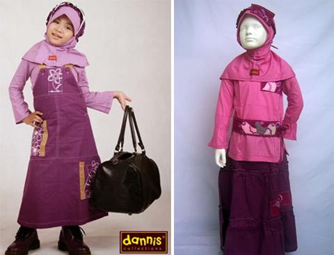 dannis baju muslim anak