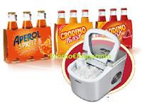 Logo Aperol e Crodino ''Amici a cena 2019'': vinci 100 macchine del ghiaccio