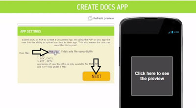 create docs app