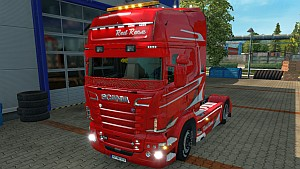 Scania RJL Red Rose
