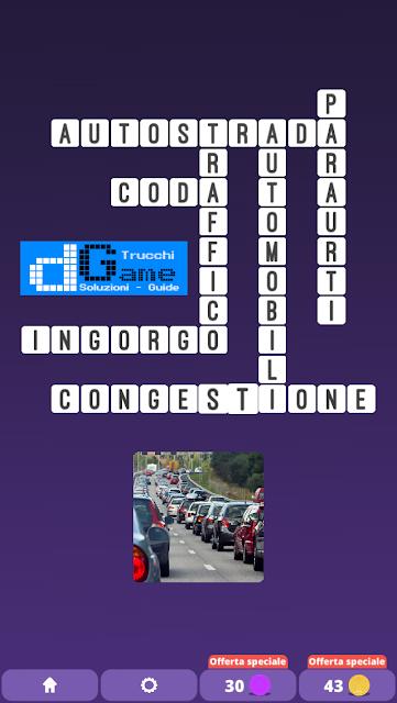 Soluzioni One Clue Crossword livello 16 schemi 13 (Cruciverba illustrato)  | Parole e foto
