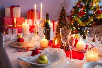 Resultado de imagen de cena de navidad gif