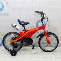 Sepeda Anak United Aero Lite BMX Rangka Aloi  Magnesium Rear Disc Brake 16 Inci