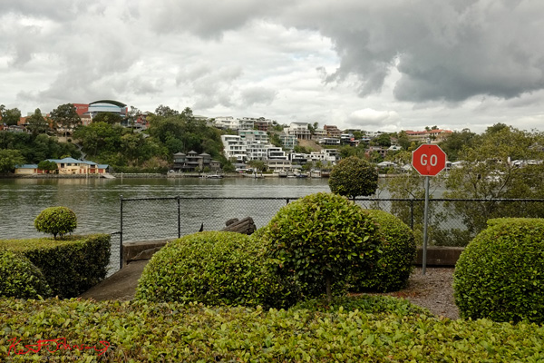 Luxury Favelas on the river, Bulimba Brisbane Photo by Kent Johnson.