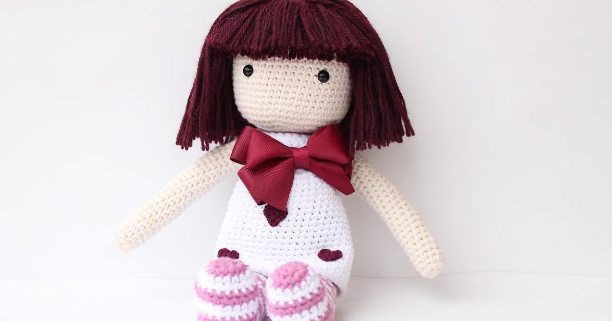 matemo: Muñeca Gorjuss de amigurumi / Gorjuss amigurumi doll