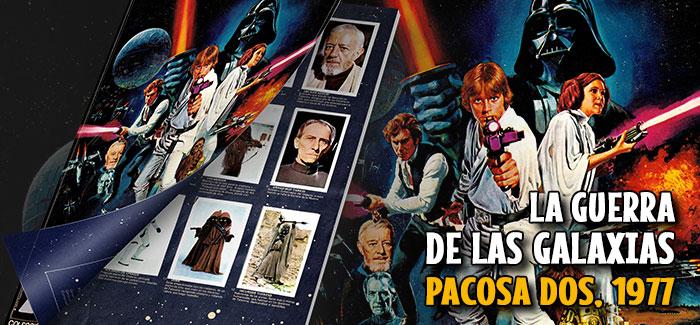Álbum La guerra de las galaxias Pacosa Dos 1977