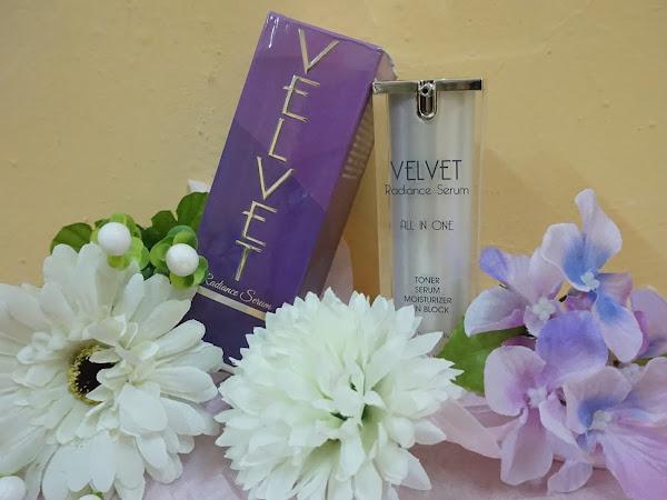 Jatuh hati dengan Velvet Radiance Serum