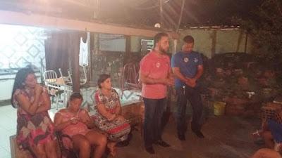Vereador Anderson Baqueiro apresenta Alex Lima e Bacelar como seus candidatos a deputado pelos bairros de Alagoinhas