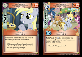 MLP Muffin Mare, Sharing is Caring Equestrian Odysseys CCG Card