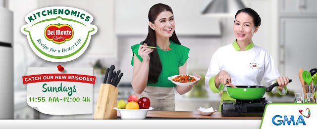 Stay connected with Del Monte Kitchenomics via  www.lifegetsbetter.ph
