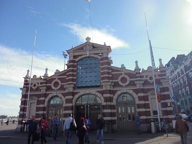 Mercado Viejo de Helsinki (Vanha Kauppahalli)
