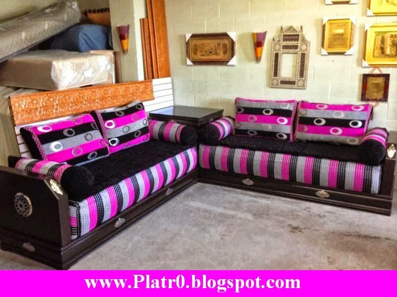 deco salon moderne marocain 2015 d coration platre maroc. Black Bedroom Furniture Sets. Home Design Ideas