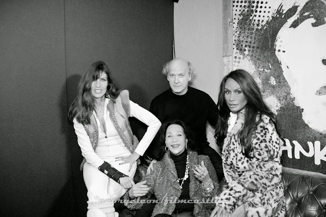 Carol Alt, China Machado, Timothy Greenfield-Sanders, Beverly Johnson ©george leon still & motion