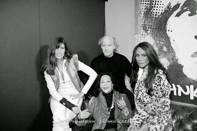 Carol Alt, China Machado, Timothy Greenfield-Sanders, Beverly Johnson ©george leon still & motion