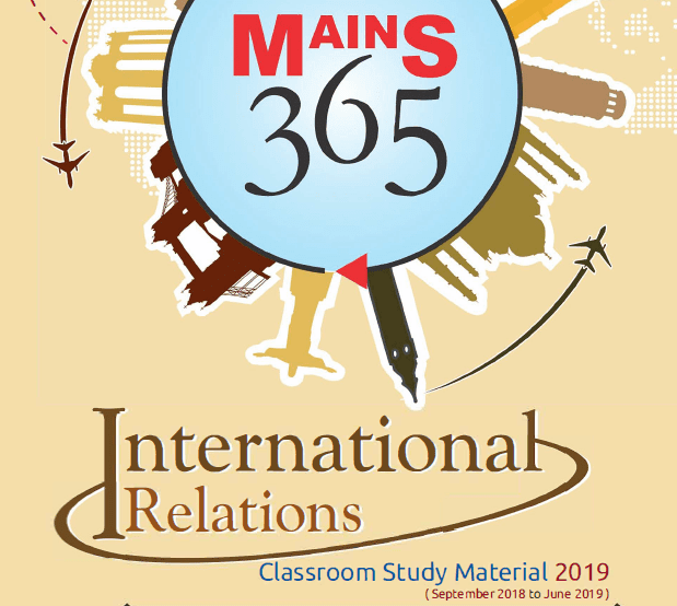 Vision IAS Mains 365 International Relation for Civil Service Mains