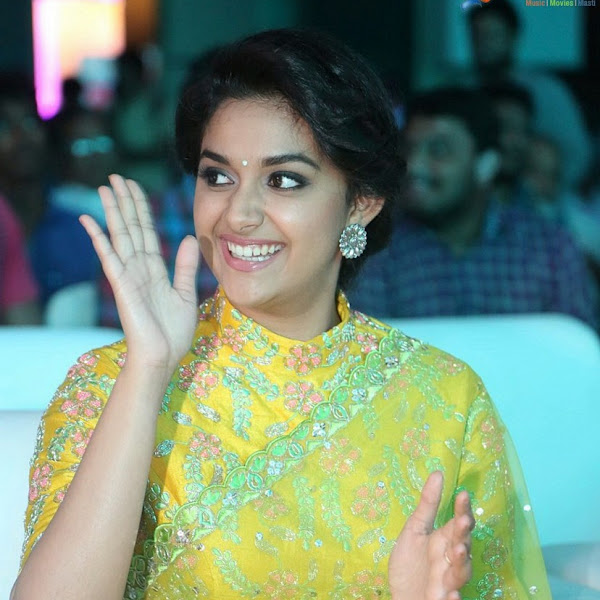Keerthy Suresh latest photos from Remo audio launch