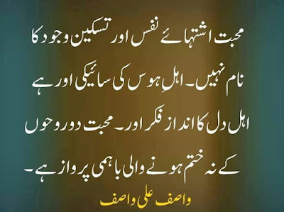 wasif ali wasif quotes