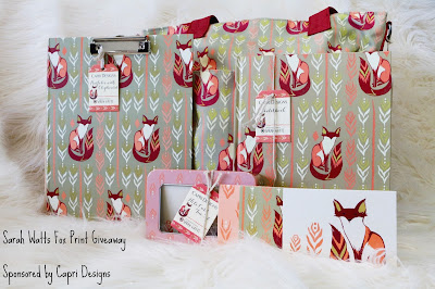Sarah Watts Giveaway