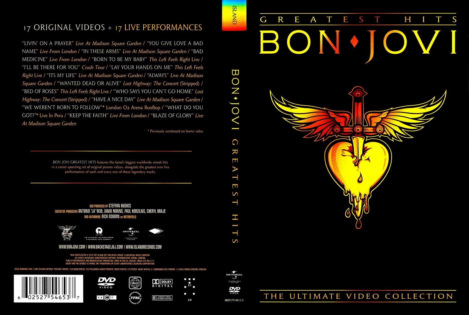 The Ultimate Collection Country Greats: Capas Shows Internacional: Bon Jovi