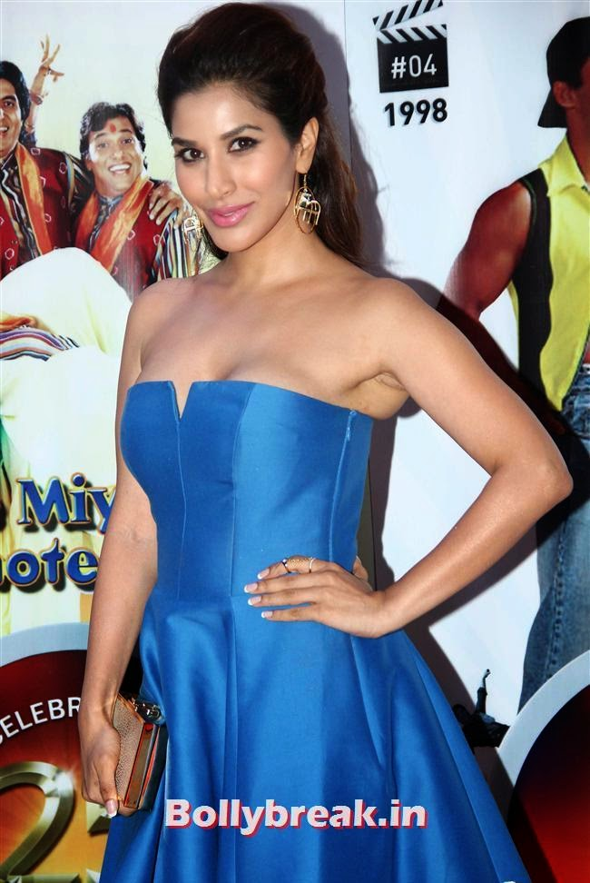 Sophie Choudhary, Vashu Bhagnani's Puja Films 25 Film Completion Party