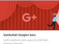 Tampilan Baru Google+, Simple dan Ringan
