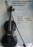 Završni koncert Masterclass violončelo Milna slike otok Brač Online