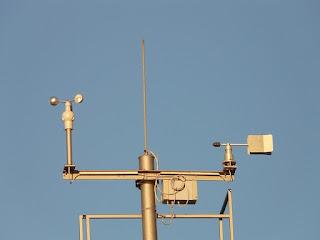 Anemometer Stasiun Cuaca